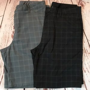 Lot of 2 Hybrid Shorts - Men's